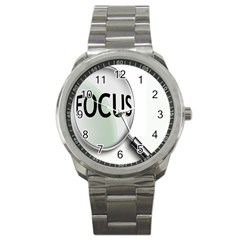 Focus Sport Metal Watch