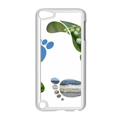 Footprint Recycle Sign Apple Ipod Touch 5 Case (white)