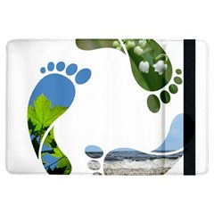 Footprint Recycle Sign Ipad Air Flip