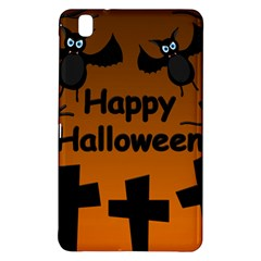 Happy Halloween   Bats On The Cemetery Samsung Galaxy Tab Pro 8 4 Hardshell Case by Valentinaart