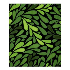 Free Green Nature Leaves Seamless Shower Curtain 60  X 72  (medium)