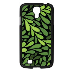 Free Green Nature Leaves Seamless Samsung Galaxy S4 I9500/ I9505 Case (black)