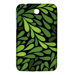 Free Green Nature Leaves Seamless Samsung Galaxy Tab 3 (7 ) P3200 Hardshell Case  by AnjaniArt