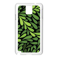 Free Green Nature Leaves Seamless Samsung Galaxy Note 3 N9005 Case (white) by AnjaniArt
