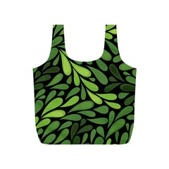 Free Green Nature Leaves Seamless Full Print Recycle Bags (s)  by AnjaniArt