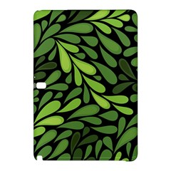 Free Green Nature Leaves Seamless Samsung Galaxy Tab Pro 12 2 Hardshell Case by AnjaniArt