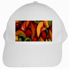 Fruit Salad White Cap by AnjaniArt