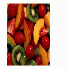 Fruit Salad Small Garden Flag (two Sides) by AnjaniArt