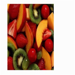 Fruit Salad Large Garden Flag (two Sides) by AnjaniArt