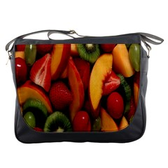 Fruit Salad Messenger Bags by AnjaniArt