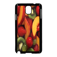 Fruit Salad Samsung Galaxy Note 3 Neo Hardshell Case (black) by AnjaniArt
