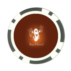 Funny Halloween Poker Chip Card Guards (10 Pack)