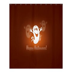 Funny Halloween Shower Curtain 60  X 72  (medium)  by AnjaniArt