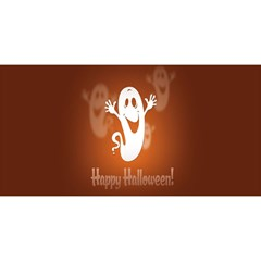 Funny Halloween You Are Invited 3d Greeting Card (8x4) by AnjaniArt