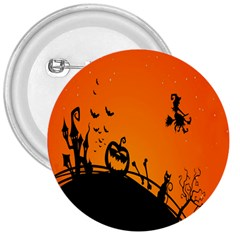Halloween Day 3  Buttons by AnjaniArt
