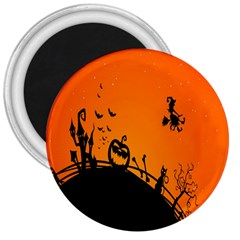 Halloween Day 3  Magnets by AnjaniArt