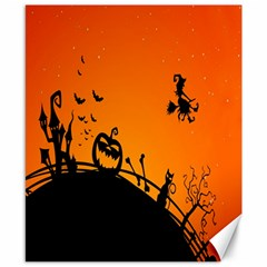 Halloween Day Canvas 8  X 10  by AnjaniArt