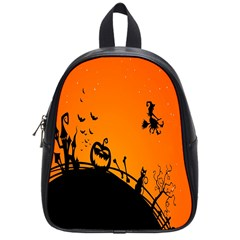 Halloween Day School Bags (small)  by AnjaniArt