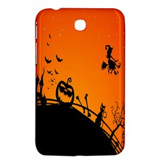 Halloween Day Samsung Galaxy Tab 3 (7 ) P3200 Hardshell Case  by AnjaniArt