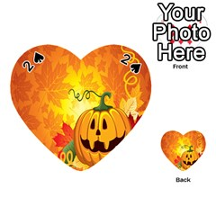 Halloween Pumpkin Playing Cards 54 (heart)