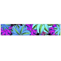 Vibrant Floral Collage Print Flano Scarf (large) by dflcprintsclothing