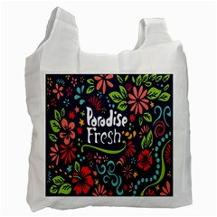 Hawaiian Paradise Fresh Recycle Bag (one Side)