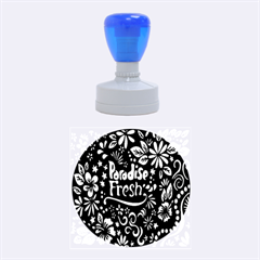 Hawaiian Paradise Fresh Rubber Round Stamps (medium) by AnjaniArt