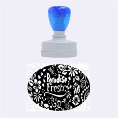Hawaiian Paradise Fresh Rubber Oval Stamps