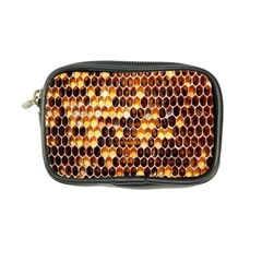 Honey Honeycomb Jpeg Coin Purse by AnjaniArt