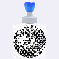 Honey Honeycomb Jpeg Rubber Round Stamps (large)