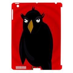 Halloween   Old Raven Apple Ipad 3/4 Hardshell Case (compatible With Smart Cover) by Valentinaart