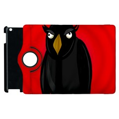 Halloween   Old Raven Apple Ipad 3/4 Flip 360 Case