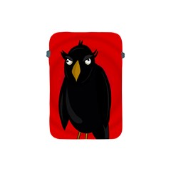 Halloween   Old Raven Apple Ipad Mini Protective Soft Cases by Valentinaart