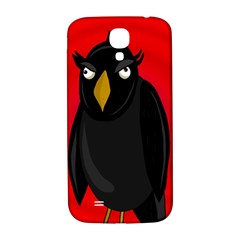 Halloween   Old Raven Samsung Galaxy S4 I9500/i9505  Hardshell Back Case by Valentinaart