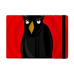 Halloween   Old Raven Ipad Mini 2 Flip Cases by Valentinaart