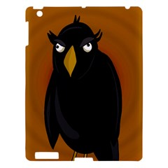 Halloween   Old Black Rawen Apple Ipad 3/4 Hardshell Case