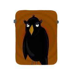 Halloween   Old Black Rawen Apple Ipad 2/3/4 Protective Soft Cases by Valentinaart
