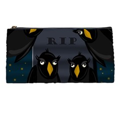 Halloween   Rip Pencil Cases by Valentinaart