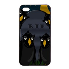 Halloween   Rip Apple Iphone 4/4s Seamless Case (black) by Valentinaart