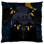 Halloween - RIP Standard Flano Cushion Case (One Side) Front