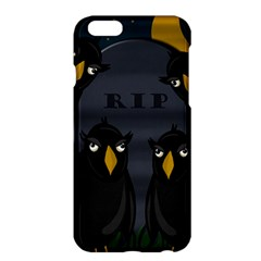 Halloween   Rip Apple Iphone 6 Plus/6s Plus Hardshell Case by Valentinaart