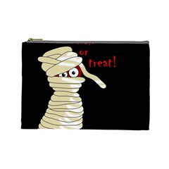 Halloween Mummy   Cosmetic Bag (large)  by Valentinaart