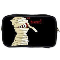 Halloween Mummy   Toiletries Bags 2 Side by Valentinaart