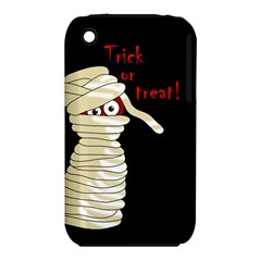 Halloween Mummy   Apple Iphone 3g/3gs Hardshell Case (pc+silicone)