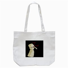 Halloween Mummy   Tote Bag (white) by Valentinaart