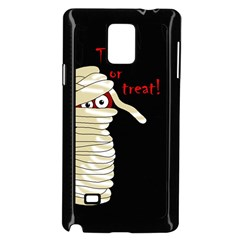 Halloween Mummy   Samsung Galaxy Note 4 Case (black) by Valentinaart