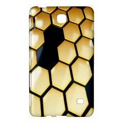 Honeycomb Yellow Rendering Ultra Samsung Galaxy Tab 4 (8 ) Hardshell Case