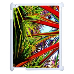 Kostenloses Leaves Apple Ipad 2 Case (white) by AnjaniArt