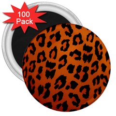 Leopard Patterns 3  Magnets (100 Pack) by AnjaniArt