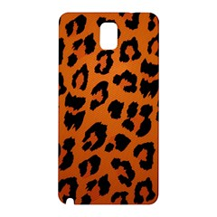 Leopard Patterns Samsung Galaxy Note 3 N9005 Hardshell Back Case by AnjaniArt